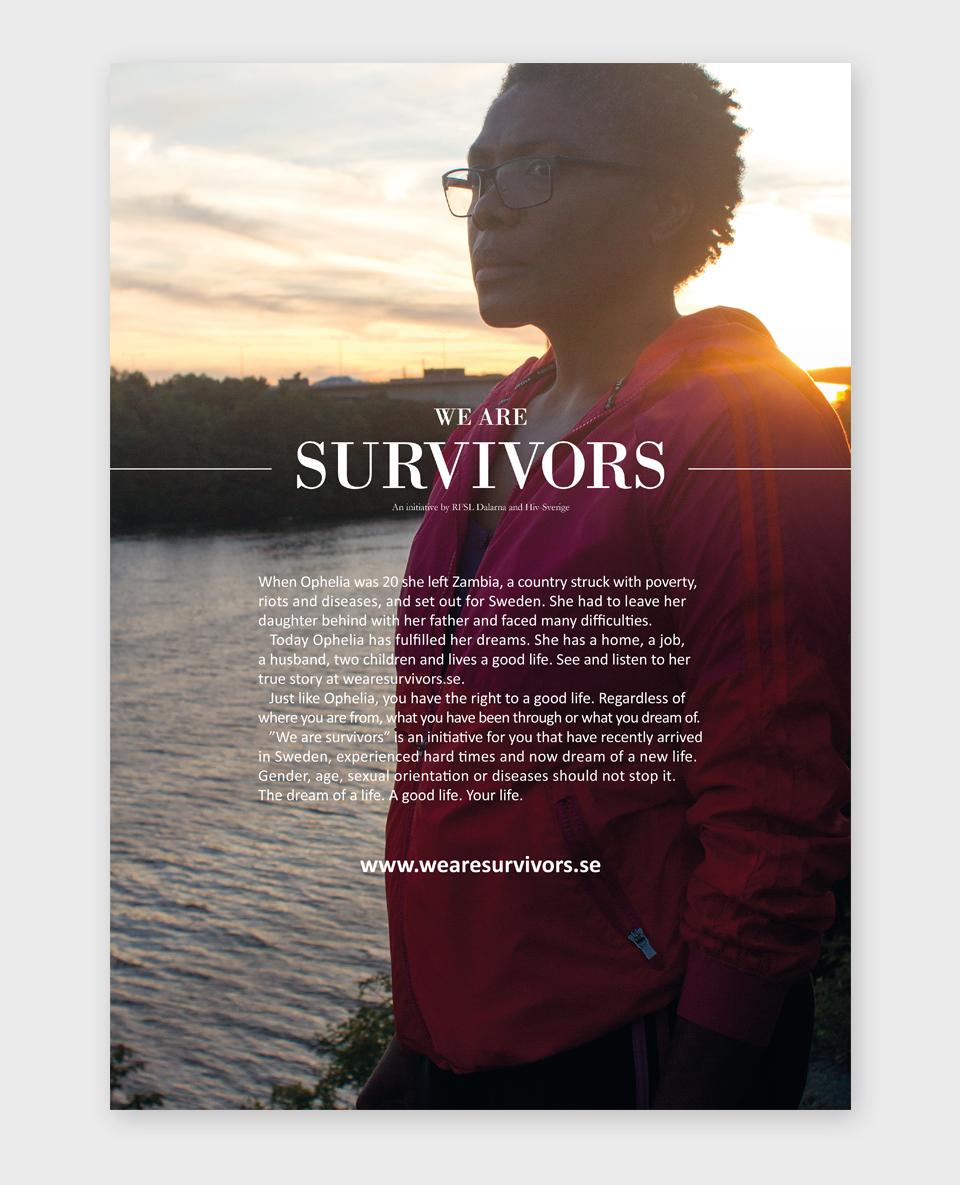 We Are Survivors affisch