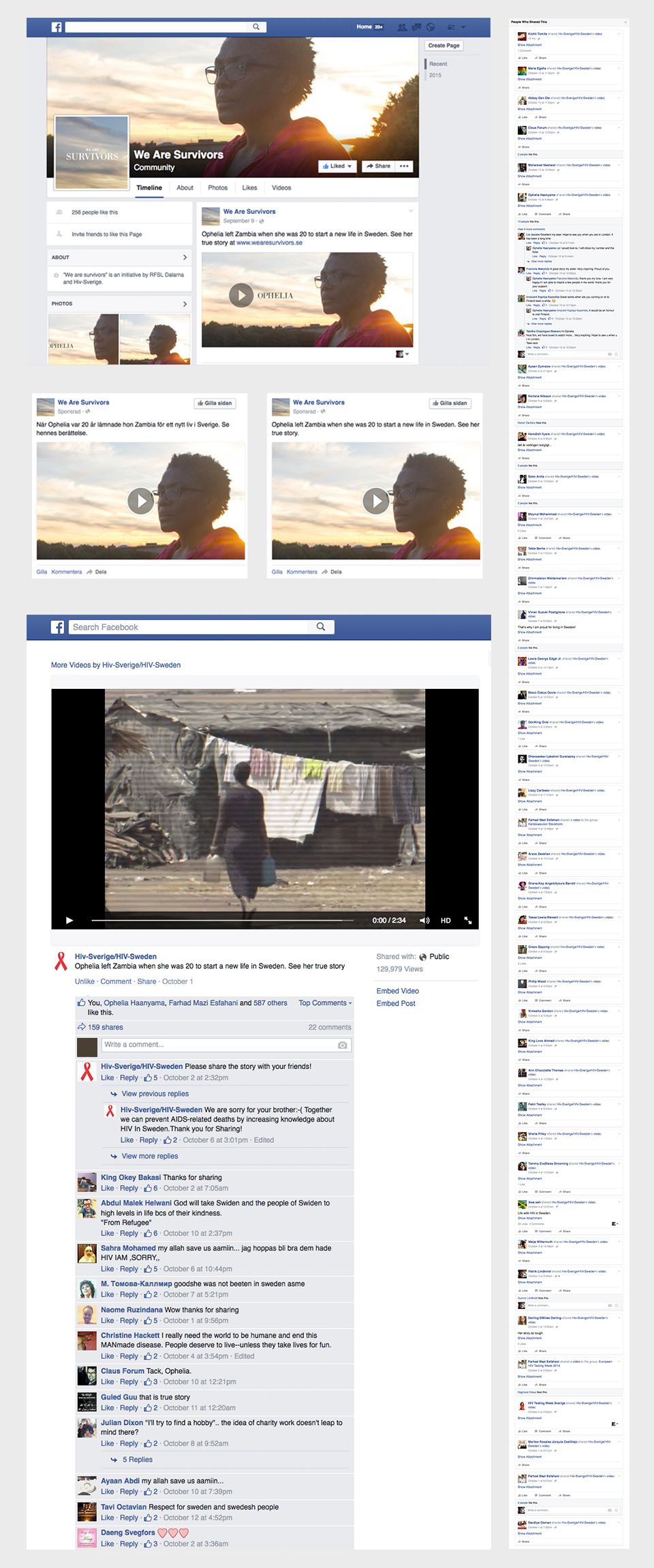 We Are Survivors Facebook