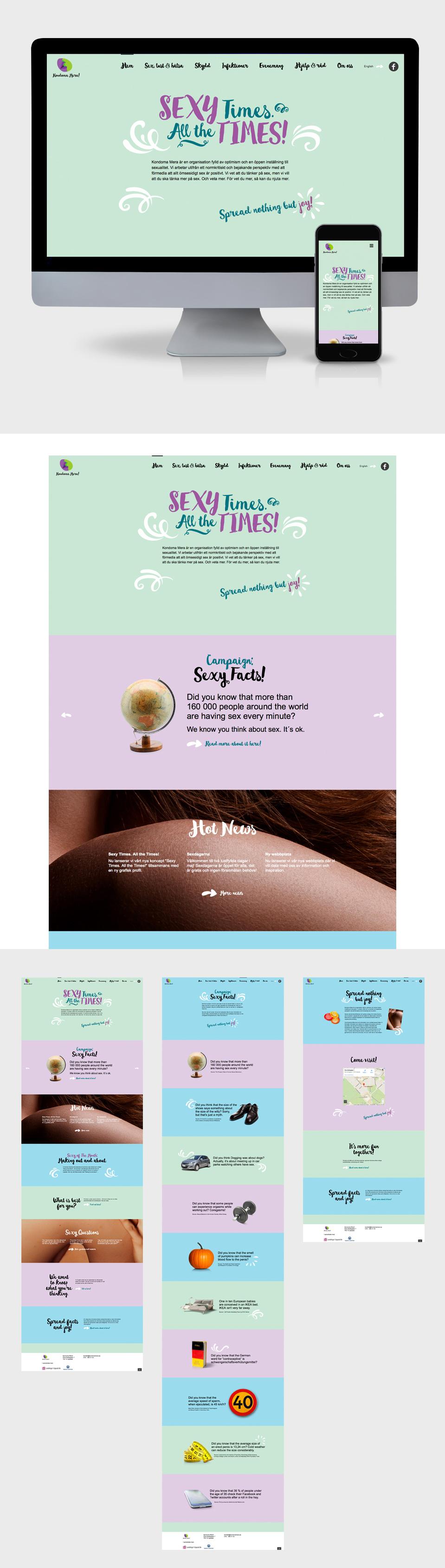 Kondoma Mera! grafisk profil