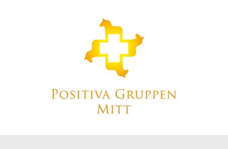 Positiva Gruppen Mitt logotyp