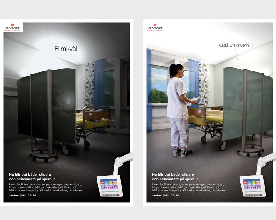 Amab annonser och affischer