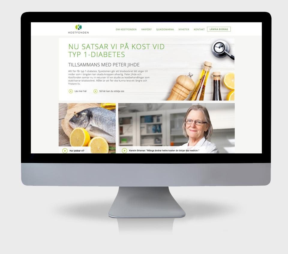 Kostfonden webbplats